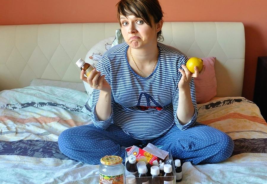 Leki na przeziębienie w ciąży i karmieniu piersią .