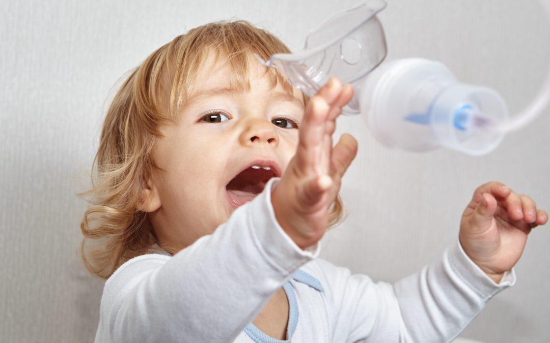 Inhalacje dziecka, co robić kiedy nie chce współpracować?
